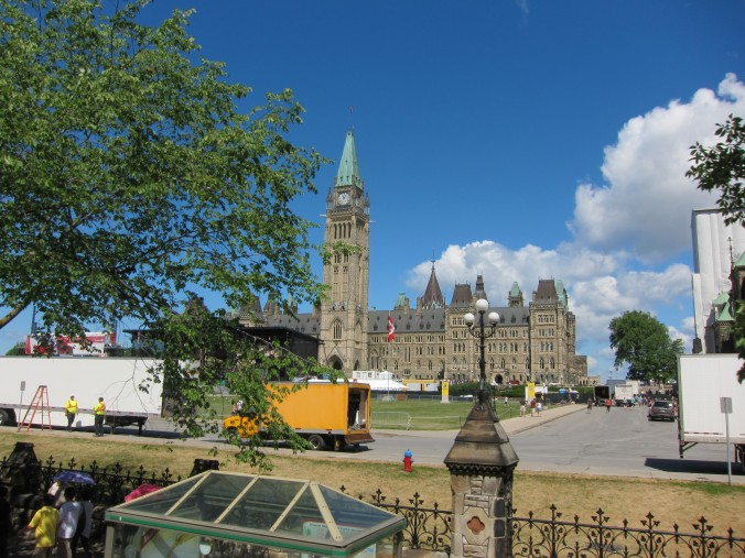Peace Tower and the Parliament Buildings