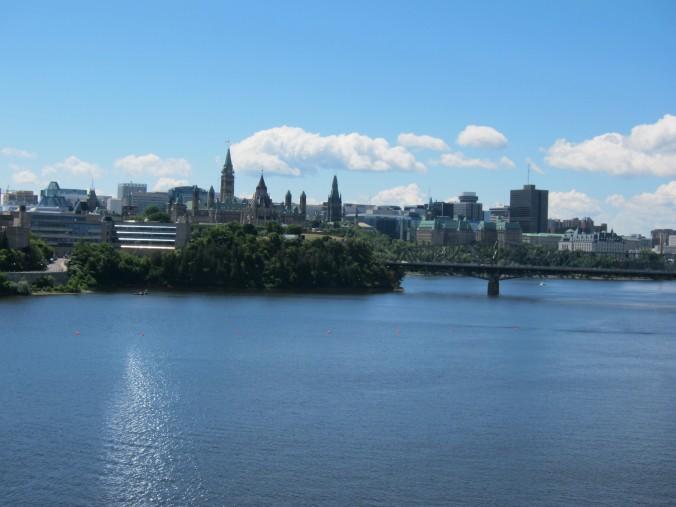 Ottawa as seen from Gatineau, QC
