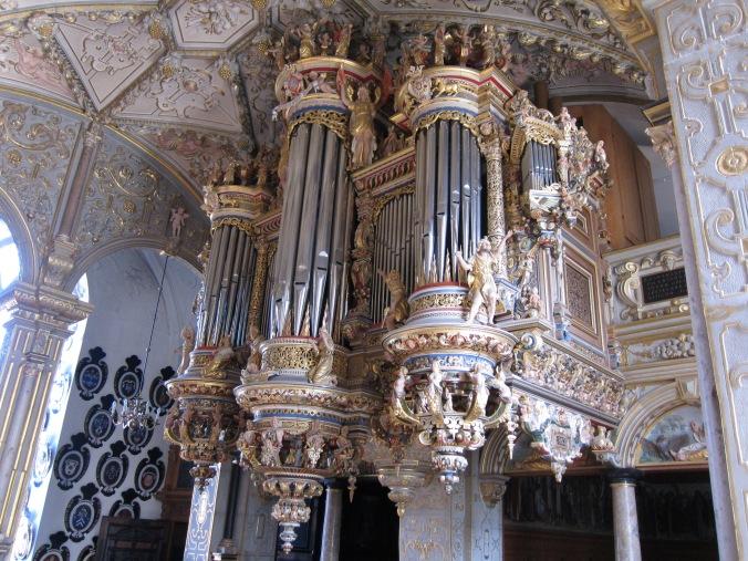 Pipe organ at Frederiksborg Castle