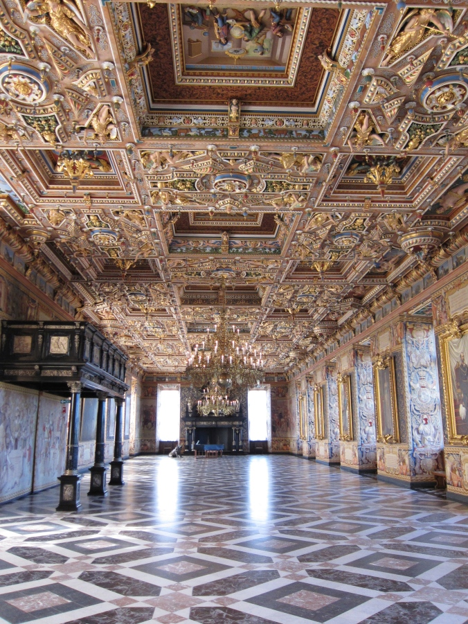 Great Hall within the palace