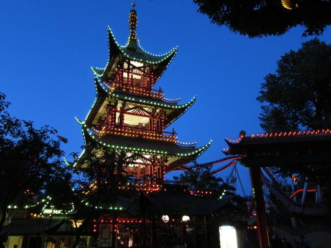 The Japanese Pagoda