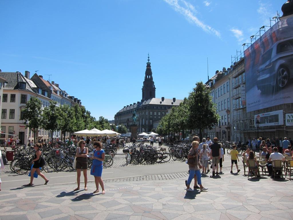 Beautiful public square