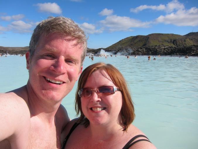 Us at the Blue Lagoon