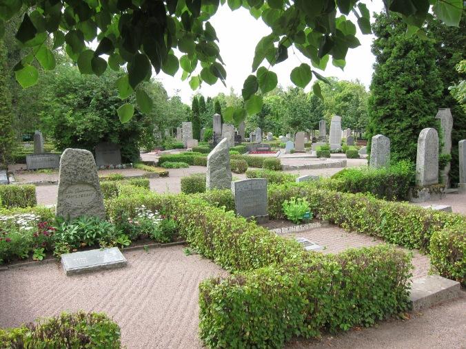 Graveyard in Uppsala