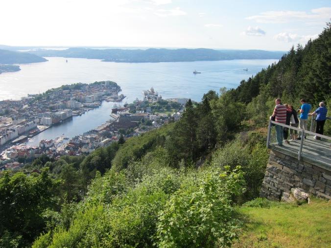 Fløyen mountain