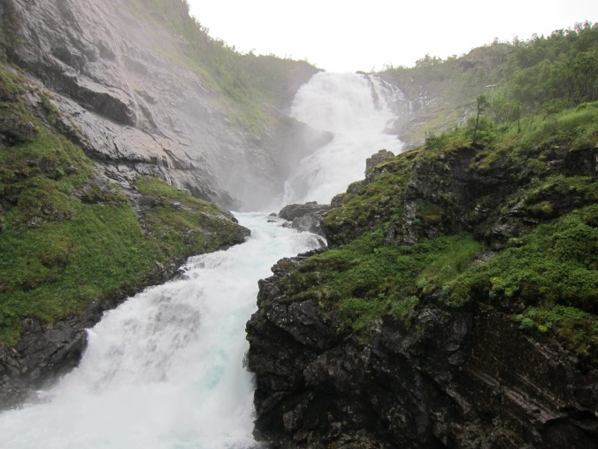 Waterfall on the way to Myrdal