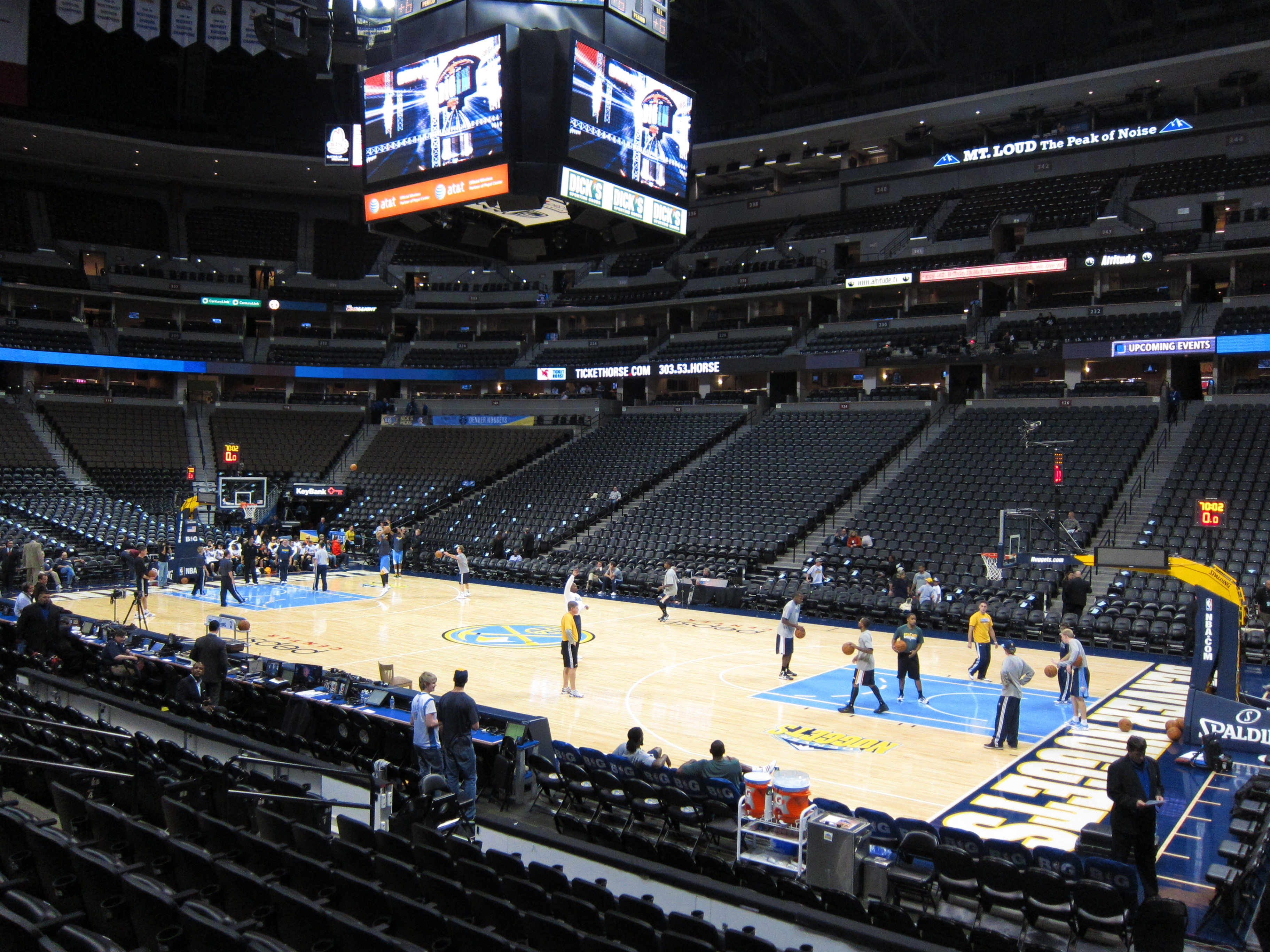 Pepsi Center: Denver Nuggets Game