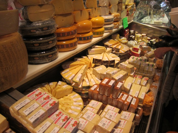 A world of cheese