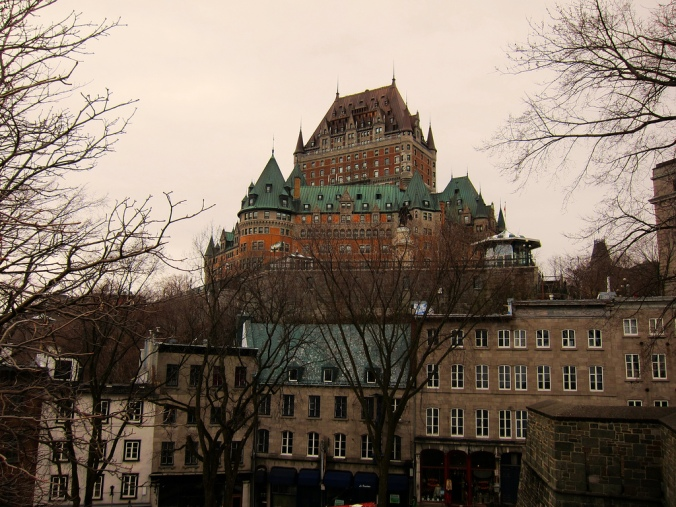 Favourite 2013 travel photos.  Quebec City, QC.  April 2013.