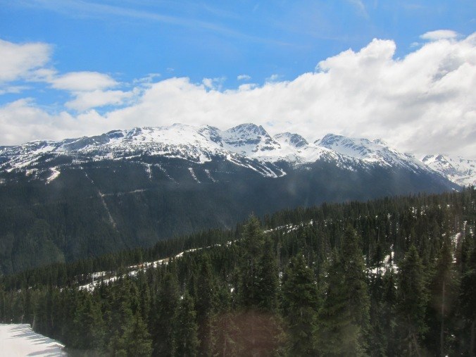 View toward Blackcomb
