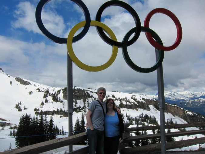 Us on top of Whistler