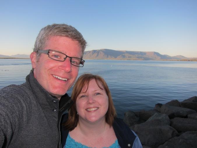 Us in Reykjavik