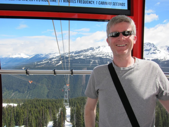 On the gondola over to Blackcomb