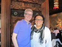 Me and Vikram Vij