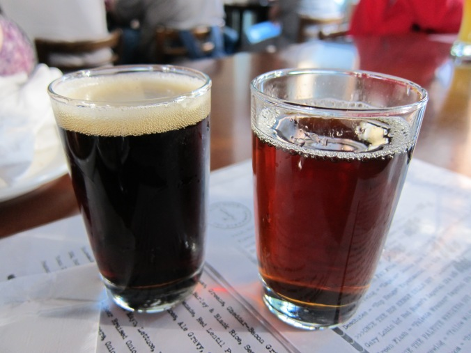 Black lager, cask imperial red ale
