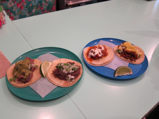 First course tacos