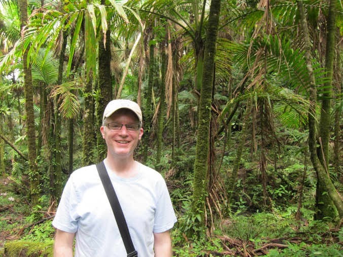 Me in the rainforest