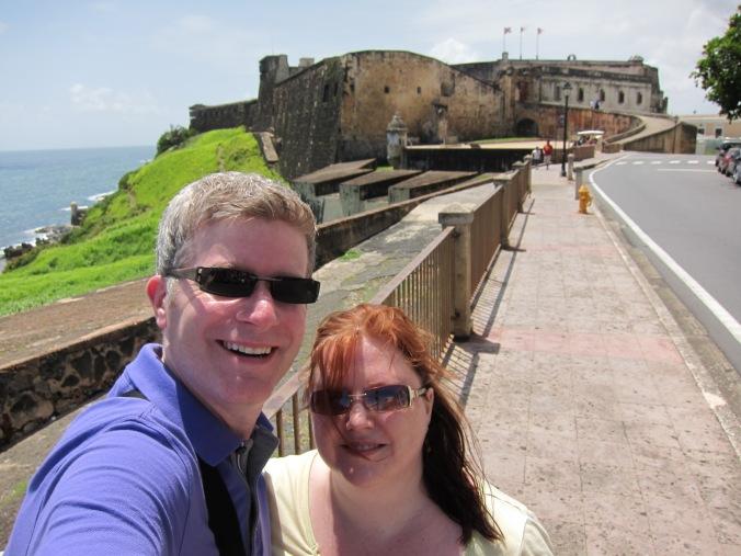 About to enter Castillo de San Cristóbal