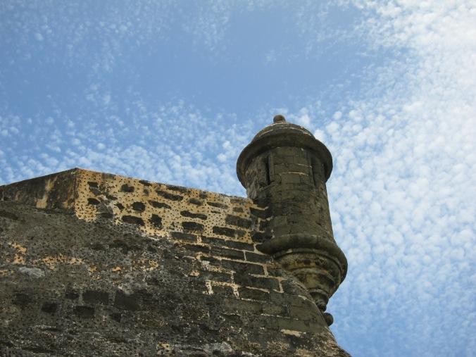 Lookout at Castillo de San Cristóbal