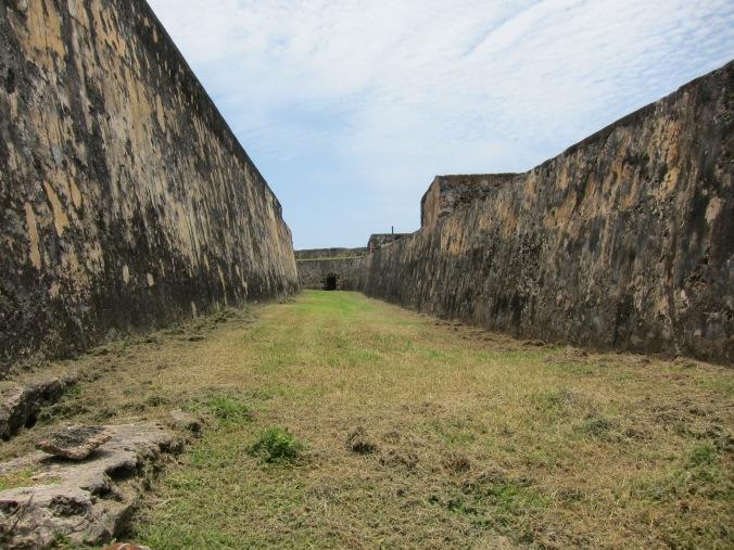 Inside Castillo de San Cristóbal