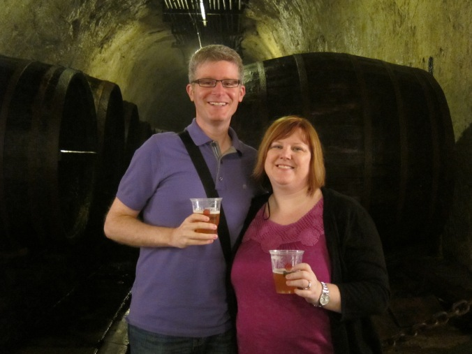 Sampling at Pilsner Urquell