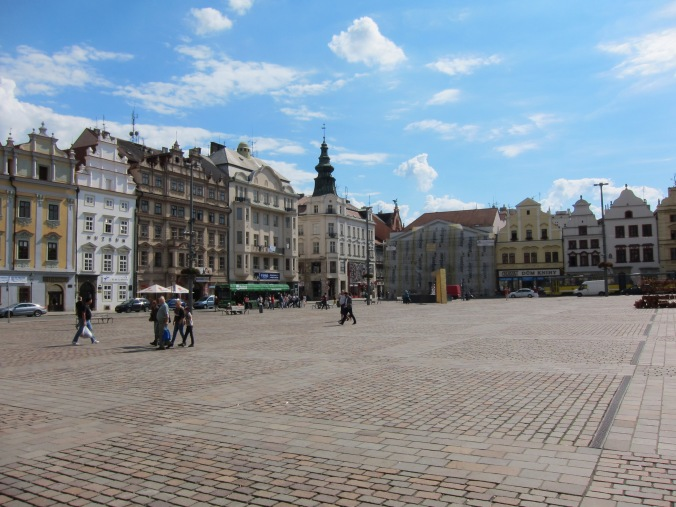 Main square in Plzeň