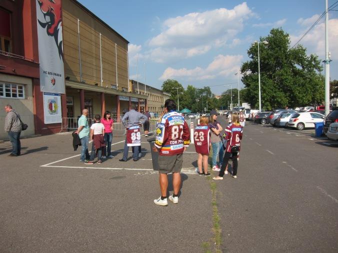 HC Sparta diehard fans