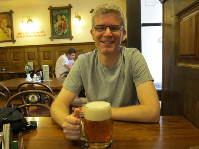 First beer in Prague