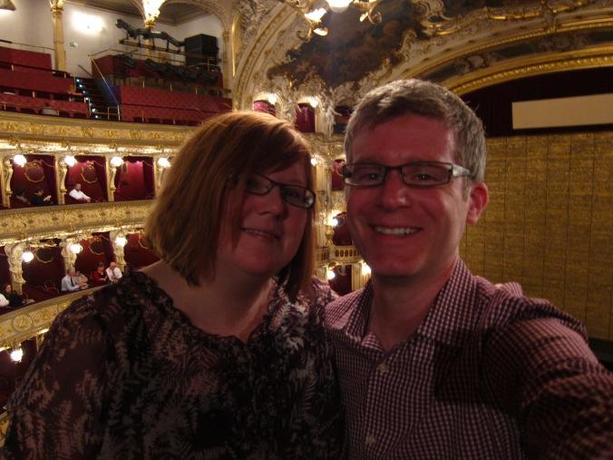 Us at State Opera in Prague