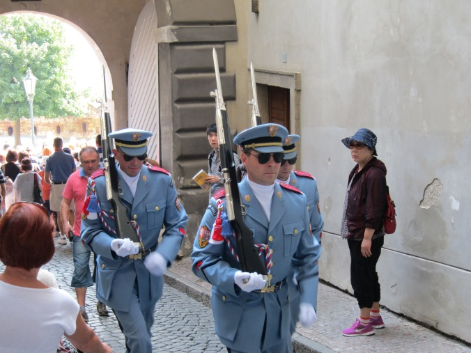 Gurds at Prague Castle