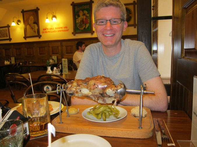 Pork knee in Prague