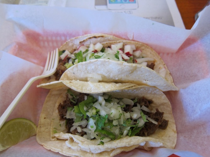 Tacos at Tacos el Asador