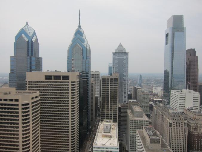 Philadelphia's sky scrapers