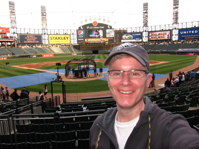 Me at the White Sox game