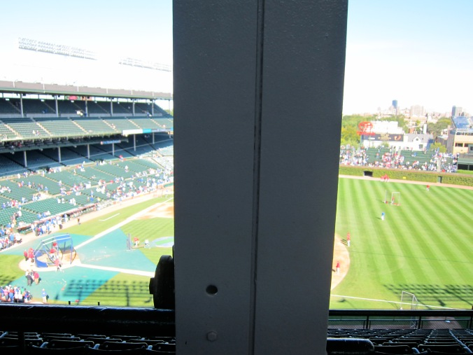 The worst seat at Wrigley?