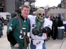 My first Philadelphia Eagles game