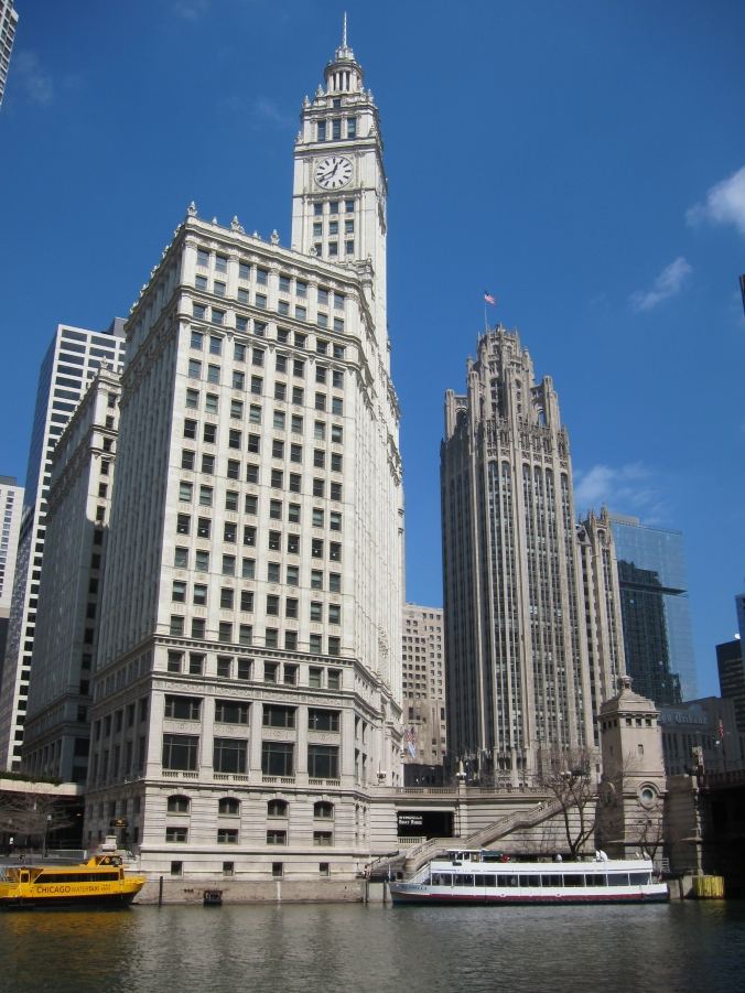 Wrigley Building and Tribune Tower, Chicago