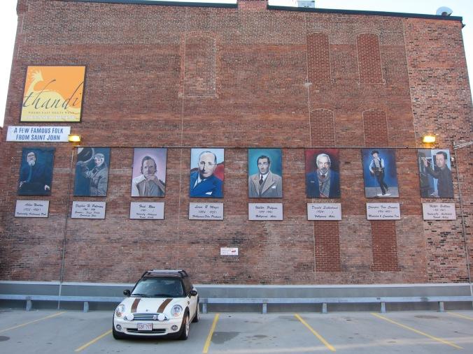 Famour citizens of Saint John