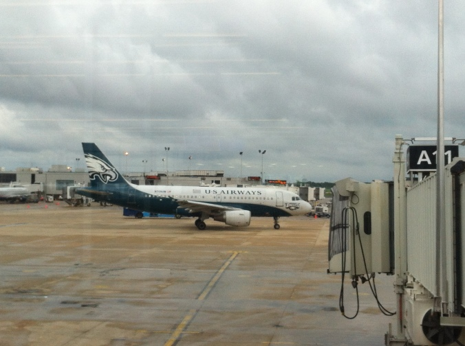 Eagles airplane in Philadelphia