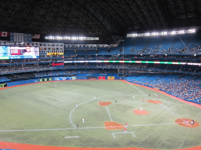 Jays-Angels from the upper deck