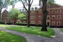 In Harvard Yard