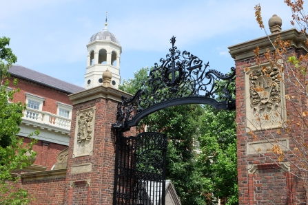 Harvard Johnston Gate