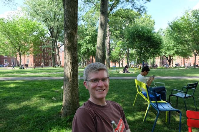 Me at Harvard