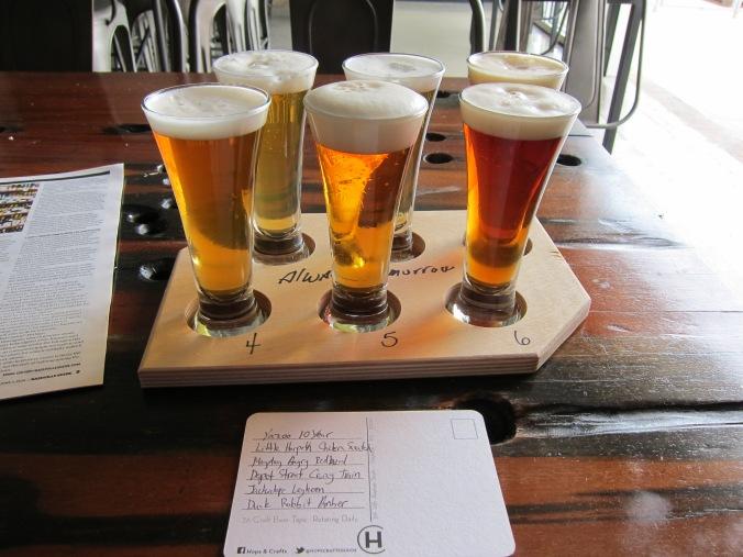 Nashville craft beers