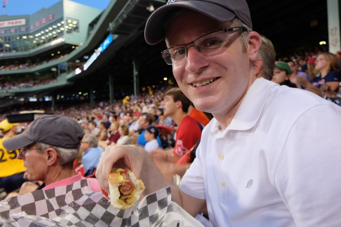 Me and a Fenway Frank