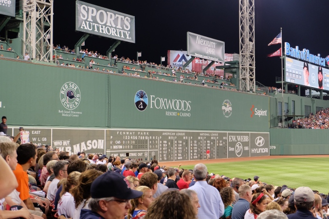 Green Monster at Fenway