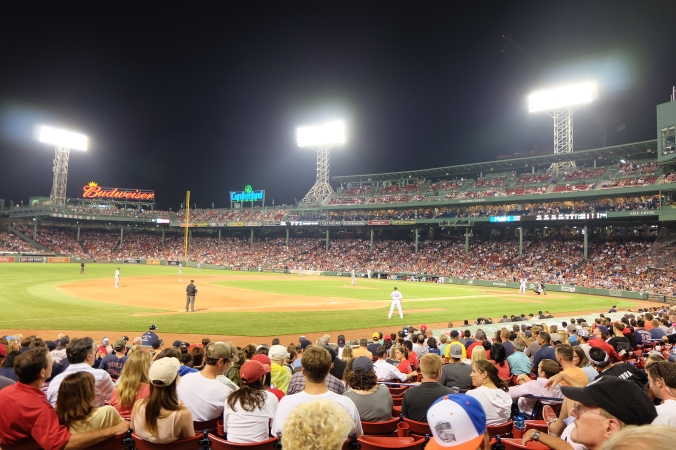 Fenway under the lights