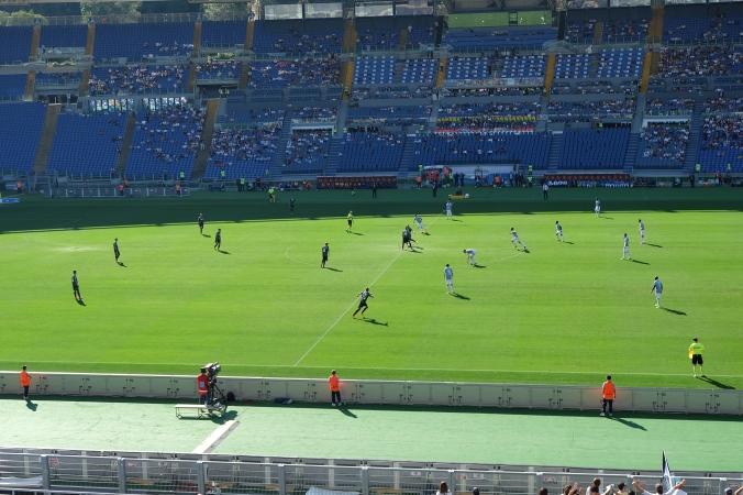Kickoff for Lazio-Sassuolo