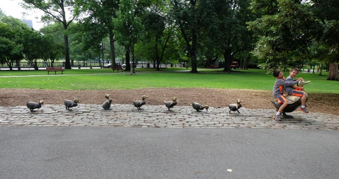 """Make Way for Ducklings"" by Nancy Schön"