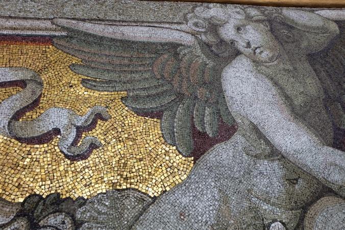 Mosaic inside St. Peter's Basilica